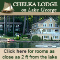The Chelka Lodge on Lake George