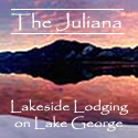 The Juliana Resort on scenic Lake George, New York.
