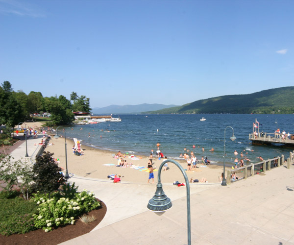 lake george beach