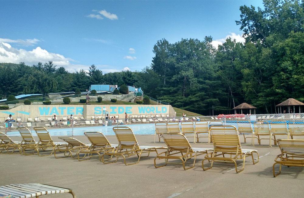 pool at water slide world