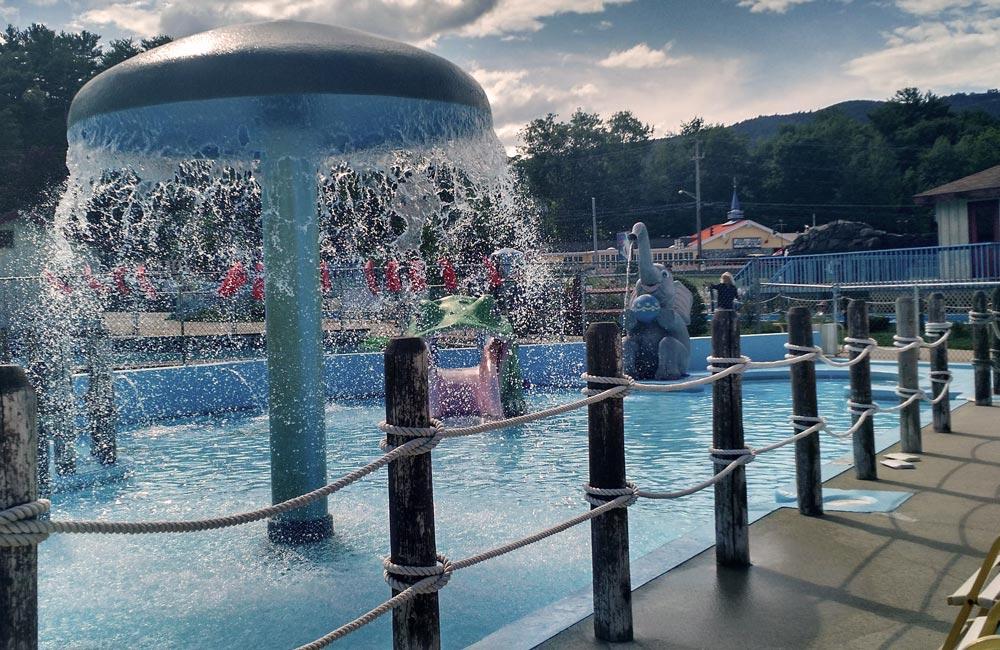 kids area at water slide world