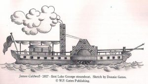 Lake George Steamboat Company First Boat