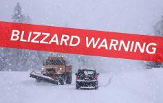 Blizzard Warning in Lake George