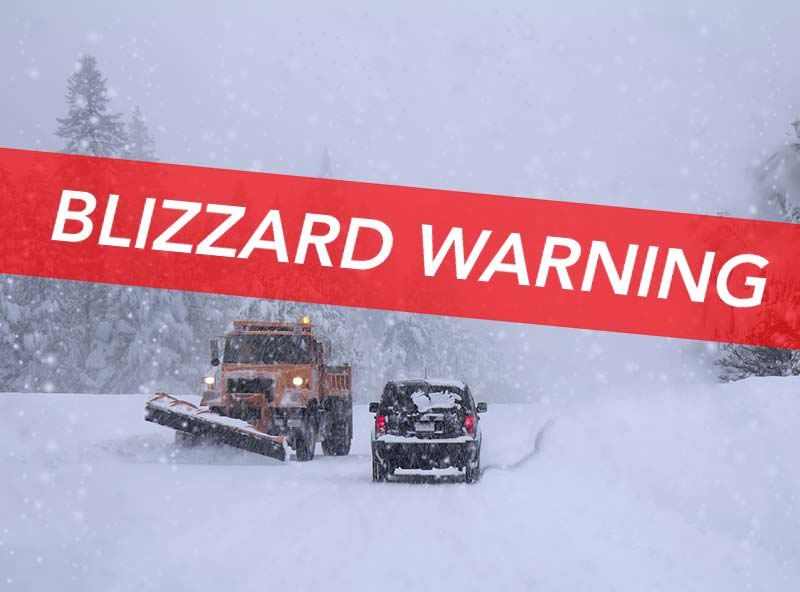Blizzard Warning in Lake George