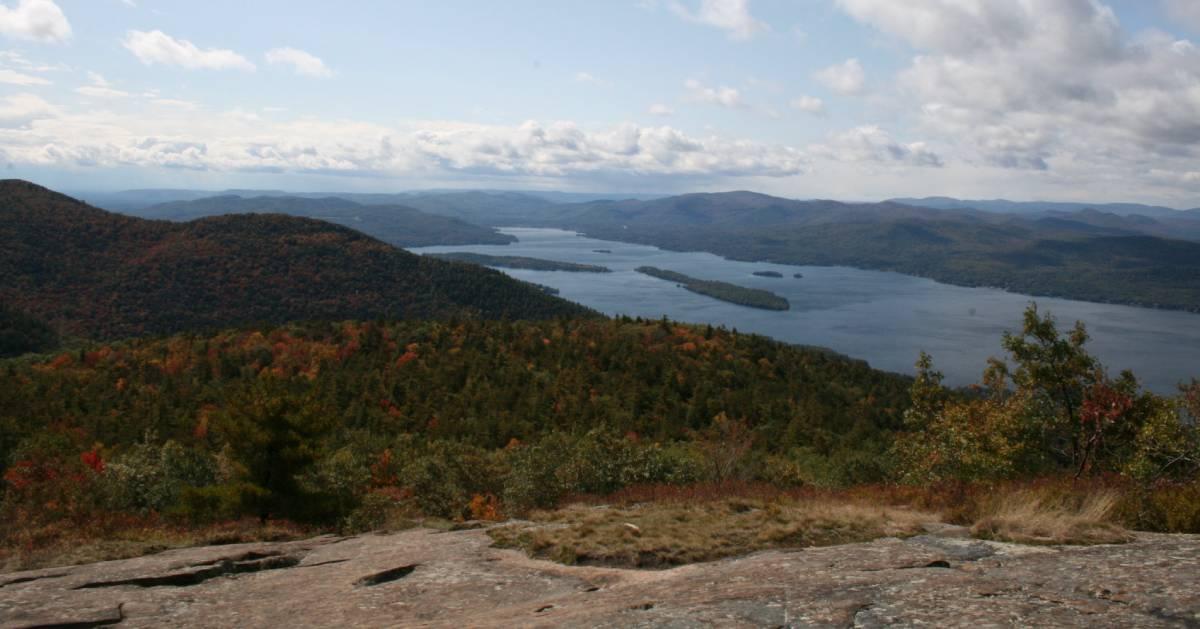 Buck Mountain in the fall