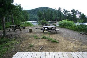 Uncas Island Campsite 1 - Lake George, Ny