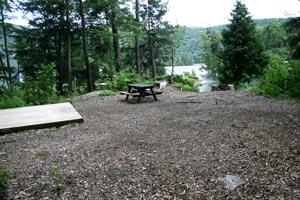 Uncas Island Campsite 10 - Lake George, Ny