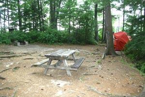Uncas Island Campsite 13 - Lake George, Ny