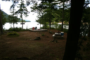Uncas Island Campsite 8 - Lake George, Ny