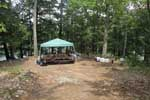 Log Bay Island Lake George Campsites 3 and 4