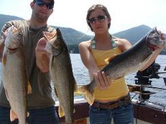 Lake George Fishing 3 trout Highliner.jpg