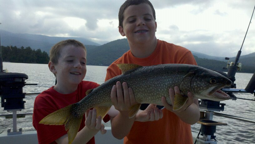 Another great weekend lake george fishing lake george for Lake george fishing charters
