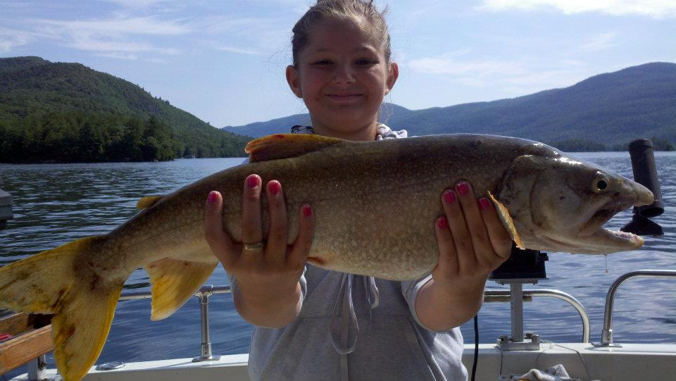 What a weekend of family fishing on lake george lake for Lake george fishing charters