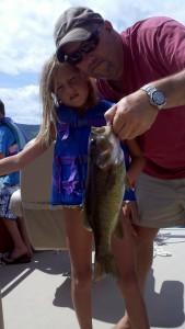 Lake George Dad w little girl bass charter .jpg