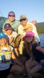 Lake George family bass fishing charter .jpg
