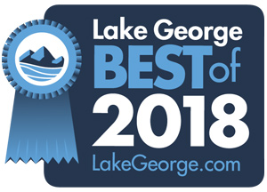 badge that says lake george best of 2018