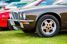 view of classic car wheels