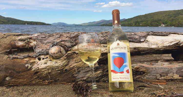 Adirondack Winery wine