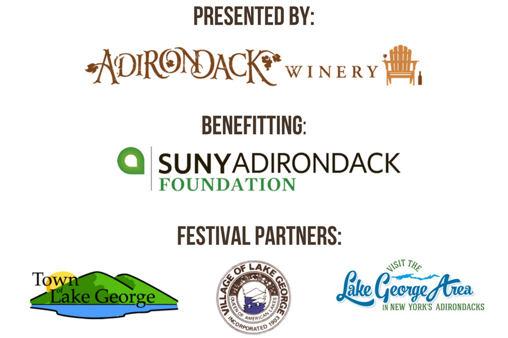 adirondack wine and food festival partners, sponsors, and beneficiary