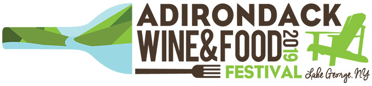 adirondack wine and food festival 2019 logo