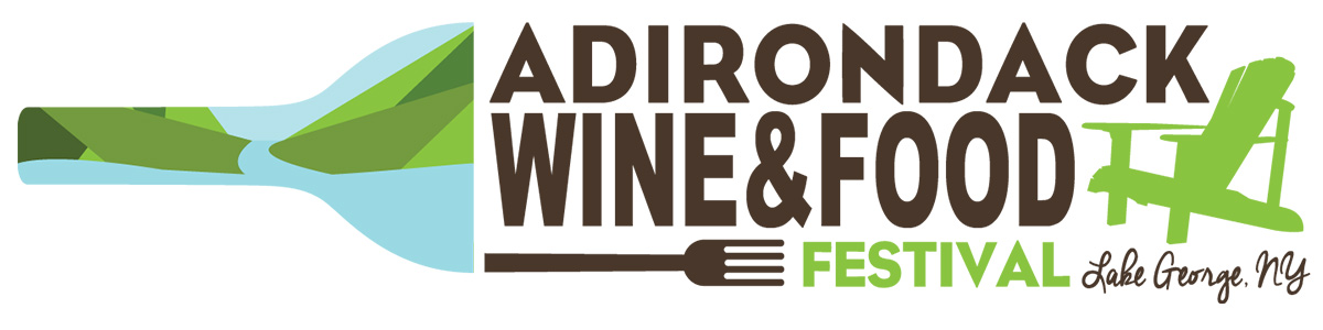 adirondack wine and food festival logo