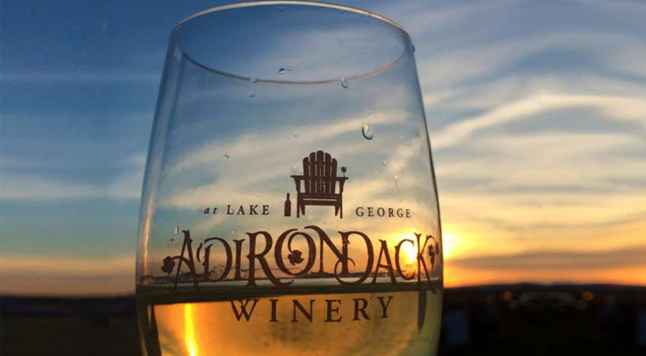 Adirondack Winery Souvenir Glass