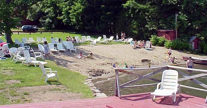 Private Beach at Flamingo Resort