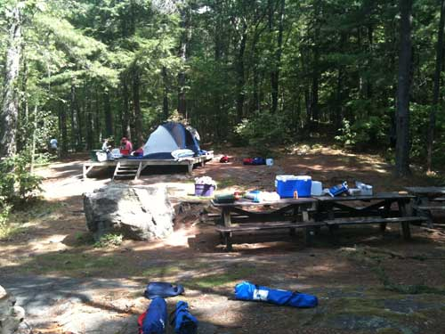Big Burnt Campsite 21