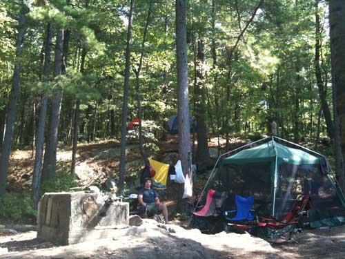 Big Burnt Campsite 25
