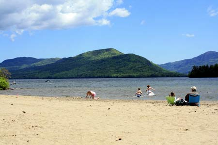 Veteran's Memorial Beach- Lake George, NY