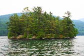 Lake George Island Camping