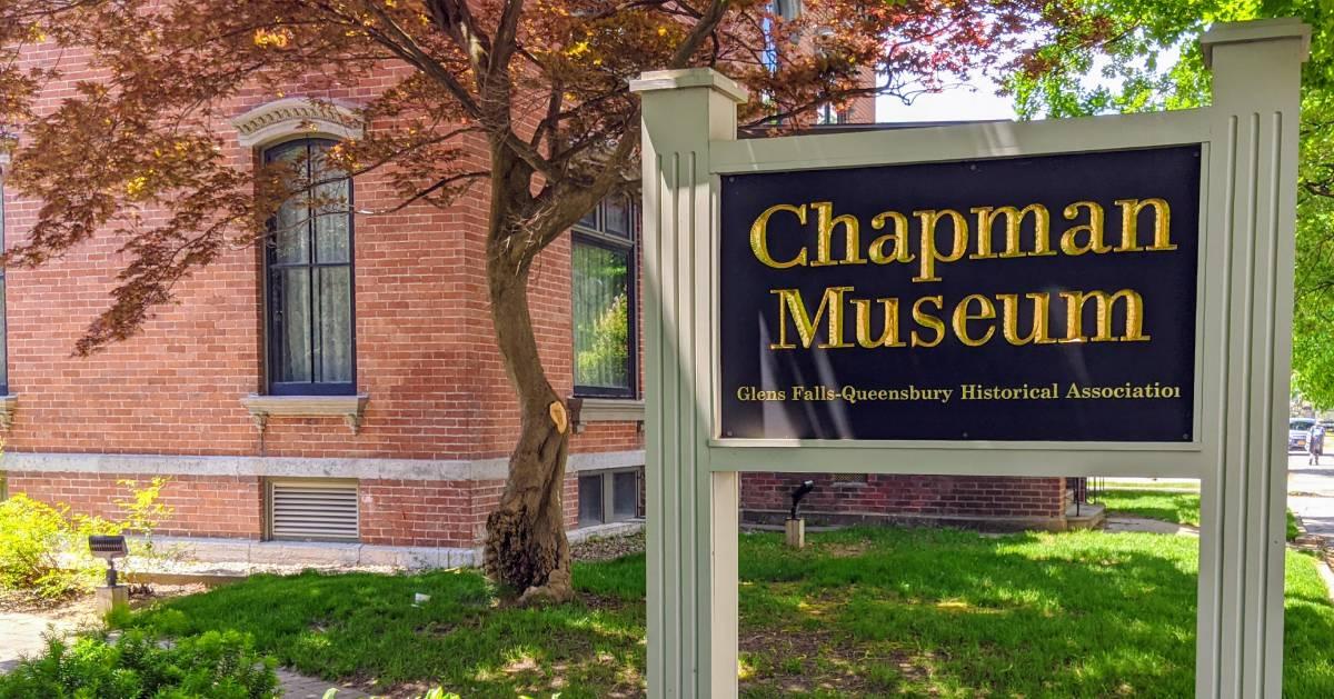 Chapman Museum sign