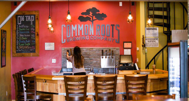common roots tasting room