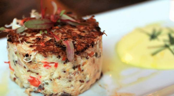 beautiful crabcake