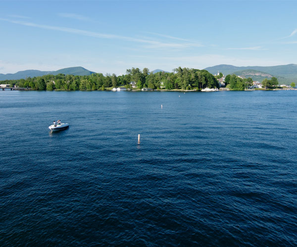 boats on lake george