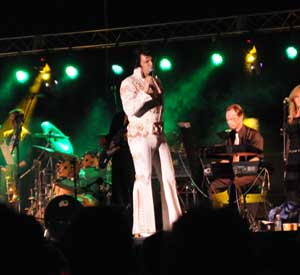 Elvis tribute artist competition at the LakeGeorge.com Elvis Festival