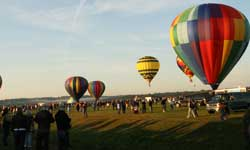 Fall balloon festival