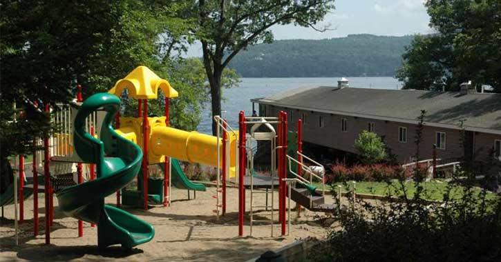 Playground at Depe Dene Resort