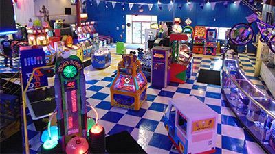 arcade at adventure family fun center