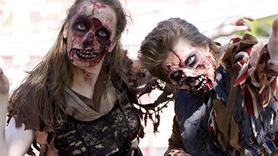 zombies at the great escape
