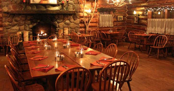 Wonderful Fireplaces In The Dining Room For Cozy And Warm: Dine By The Fireplace At Lake George Area Restaurants