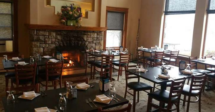 Dine By The Fireplace At Lake George Area Restaurants