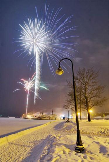 lake george fireworks