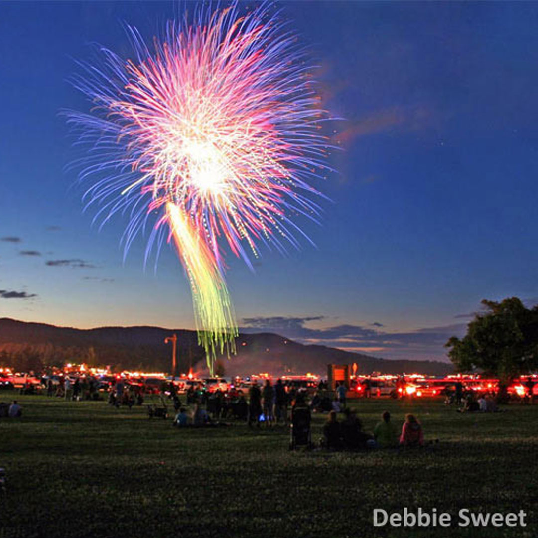 Find Fireworks Displays In The Lake George Region All Year Long