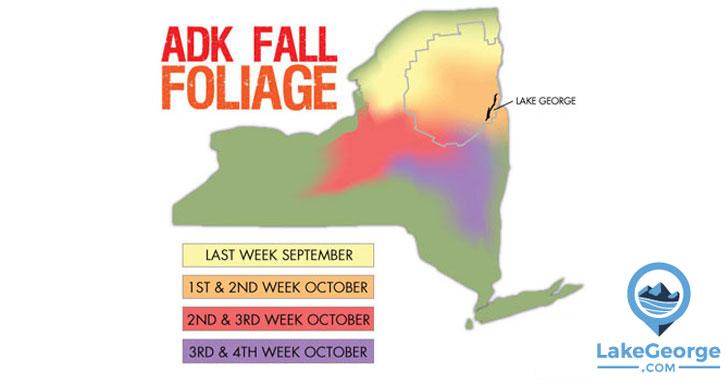 fall foliage map ny
