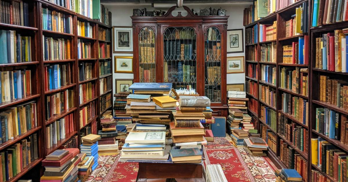 room in bookstore