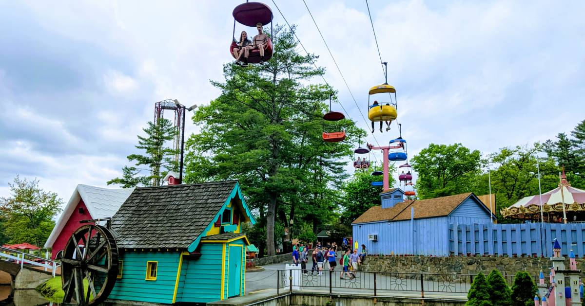 Sky Ride at Great Escape