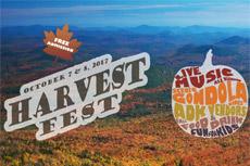 gore mountain harvest fest poster
