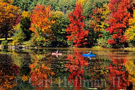 Lake George leaf peeping
