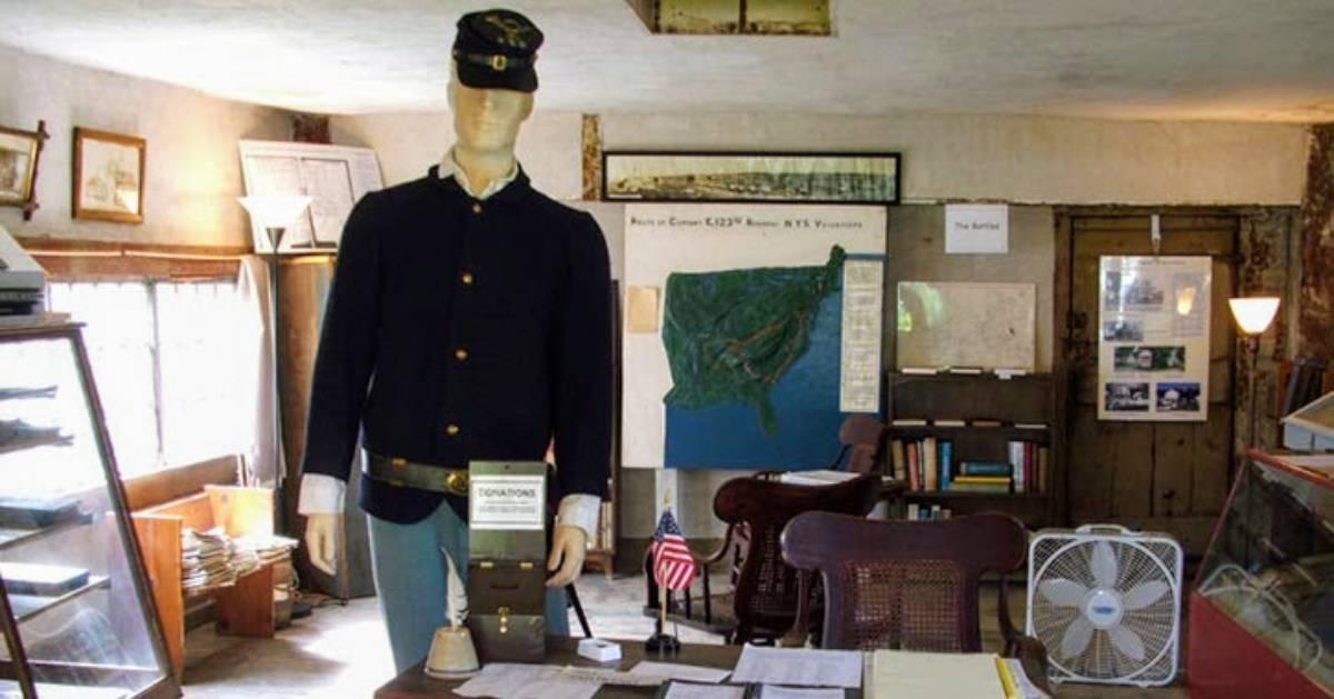 Civial War exhibit